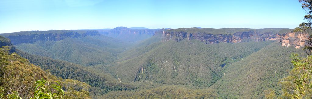 View of Grose Valley from Evans Lookout